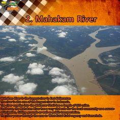 2. Mahakam River