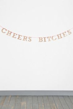Urban Outfitters - Cheers Banner