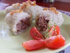 Scary artillery shells? :) Well ... it's Lithuanian potato dumplings.