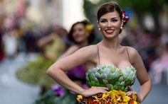 """Spring flower - Fiestas de Primavera 2017 Murcia - Desfile """" Batalla de las flores"""" Spring Festival 2017 Murcia - """" Battle flower"""" parade Vestidos de flores -  Flower dresses"""