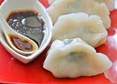 Intrigued by these gluten free Chinese dumplings - dumplings are one of the things I miss the most.