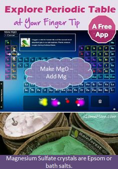 Explore Periodic Table with a Free App