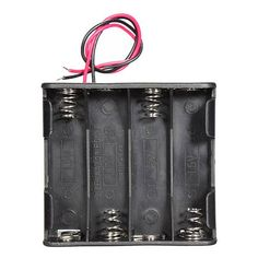 5Pcs 12V 8 x AA Battery Clip Slot Holder Stack Case 6 Inch Leads Wire  Worldwide delivery. Original best quality product for 70% of it's real price. Buying this product is extra profitable, because we have good production source. 1 day products dispatch from warehouse. Fast & reliable...