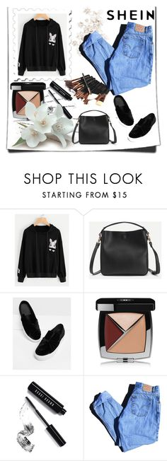 """""""SHEIN"""" by sabine-rose ❤ liked on Polyvore featuring Katie, Chanel, Bobbi Brown Cosmetics and Levi's"""