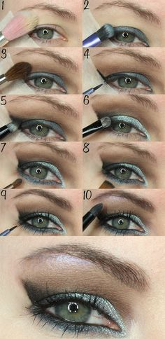 Courtney shares an easy to follow tutorial using the Too Faced Semi-Sweet Chocolate Bar Palette and Makeup Geek Kaleidoscope.