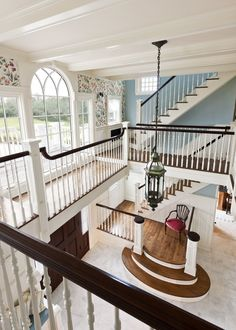 - very nice stuff - share it - Residential Preservation Naturalists' Sanctuary Hallway TraditionalNeoclassical by Eberlein Design Dream Home Design, My Dream Home, House Design, Design Homes, Design Design, Design Ideas, Future House, My House, House Goals