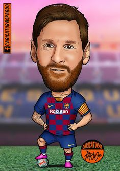 Messi Drawing, Funny Faces Images, Lionel Messi Wallpapers, Leonel Messi, Samantha Pics, Messi 10, Barcelona Soccer, Celebrity Caricatures, Uefa Champions League