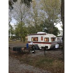 16 ft air conditioned 3 burner gas stove microwave refrigerator toilet sink and shower Professionally upholstered in durable Naugahyde, Newly carpeted floor, ga. Camper Trailer For Sale, Vintage Campers Trailers, Retro Campers, Camper Trailers, Serro Scotty, Toilet Sink, Backyard Lighting, Gas Stove, Gaucho