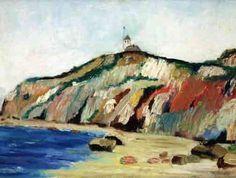 Milton Avery, Untitled (Coastal Scene of Gay Head)