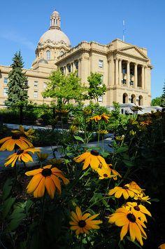 Alberta Legislature, in Edmonton, Alberta, Canada O Canada, Alberta Canada, Canada Travel, Great Places, Places To See, Beautiful Places, All About Canada, Ontario, Alaska