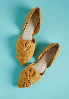 Think you know what to expect from cruelty-free footwear? These mustard flats from BC Footwear combine intricate twists atop pointed toes with a d'Orsay. Strappy Flats, Slingback Flats, Wedge Shoes, Shoes Sandals, Flat Shoes, Shoes Sneakers, Footwear Shoes, Mules Shoes, Mustard Shoes