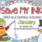 All you need to do is print and copy!   No color ink, no lamination, just easy!  These January themed activities will work great for morning work, ...