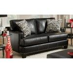 Chelsea Home Furniture - Verona Kimberly Apache Black Loveseat - 8702  SPECIAL PRICE: $1,099.99
