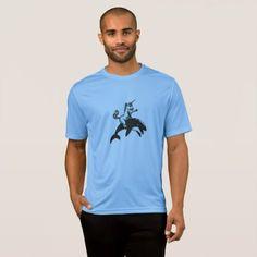 Unicorn Riding Orca Killer Whale Cartoon Fantasy T-Shirt - mens sportswear fitness apparel sports men healthy life