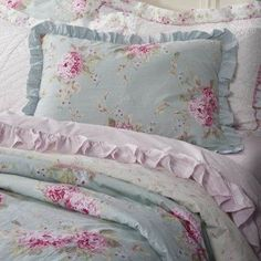 Target Shabby Chic Euro Sham : King Size - 100% Cotton Dropcloth Bedding like Joanna Gaines Master Bedroom! *Price will include ...