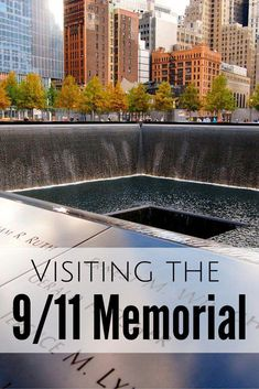 Visiting the 9/11 Memorial in New York City #NewYorkState