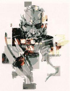 Solidus Snake by Yoji Shinkawa