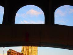 under the bridge,osaka