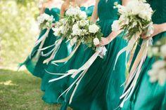 beautiful bouquet ribbons | Nancy Ray