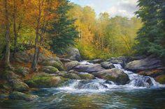 Softly Falling Water