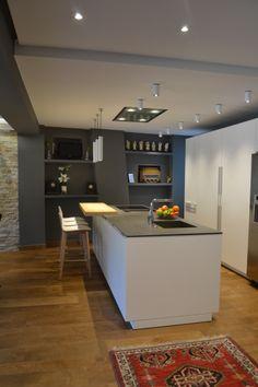 SANTOS kitchen | Snow white Intra model