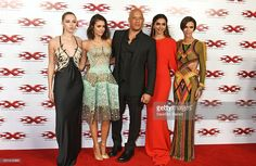 Hermione Corfield, Nina Dobrev, Vin Diesel, Deepika Padukone and Ruby Rose attend the European Premiere of 'xXx': Return of Xander Cage' at The Cineworld O2 Arena on January 10, 2017 in London, United Kingdom.