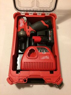 """Milwaukee M12 Surge 1/4"""" Impact Kit, New without retail packaging. Kit comes with two batteries-(1) 3ah and (1) 1.5ah, M12 Surge, Charger-all in a Packout Box! Tools have never been used and packout box may have small blemishes from storage."""