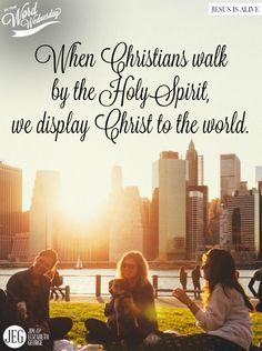 """""""walking by the Spirit"""" (Galatians 5:22-23). #InTheWordWednesday"""
