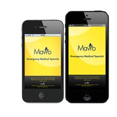 Beautiful Devices! Download Mavro's Top Leading Medical Spanish App with Audio!