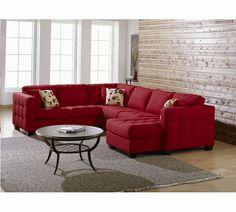 Palliser Barrett Sectional | Palliser Furniture- for the family movie room