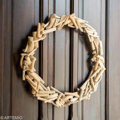 Fabriquer une couronne de Noël en bois flotté - Idées et conseils Noël