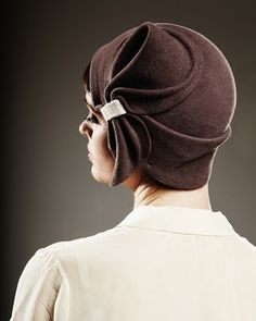 1920s flapper hat by Milliner Behida Dolic