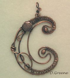 Pendent for my sister Colleen.