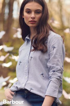 Introducing the SS20 Modern Country collection, featuring beautiful, feminine, and country-inspired clothing with a modern twist. #BarbourWayOfLife