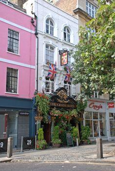 The Cross Keys pub, Covent Garden, London