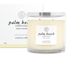 Deluxe Candle Coconut and Lime | Palm Beach Collection