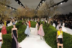 In full bloom: Dior S/S 13 Haute Couture