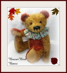 Percy 18 inch mohair bear.  ADOPTED!