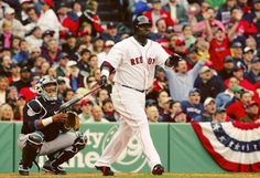 4/11/2006 @ Fenway Park | David Ortiz singled and homered, Red Sox strong effort from Josh Beckett on 5-3 win over Blue Jays (Photo by Jim McIsaac/Getty Images)