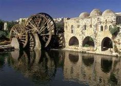 Hama, Syria... home of the water wheels