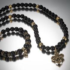 Black & Gold. #skulls #menswear #luxury #swarovski #handcrafted #mensfashion #style