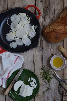 Caramelized Fennel and Goat Cheese Bread