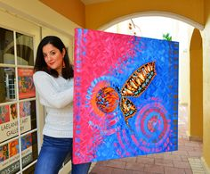 Where to Buy Abstract Art in Florida | Artist Laelanie Larach | Doral Art Best Abstract Paintings, Trippy Painting, Abstract Art For Sale, Cool Paintings, Paintings Online, Online Art Store, Art For Sale Online, Art Online, Gallery Of Modern Art