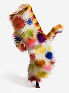 Sound Suit by Nick Cave #fashion #art #fur #primitivism - Carefully selected by GORGONIA www.gorgonia.it
