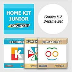 Our Home Junior Kit includes 3 super-fun card games to keep math skills sharp over the summer! Which of our card games is your favorite? Click the link in our profile to order on Amazon today!⁠ #mathteacher #math #mathematics #maths Home Learning, Learning Games, Learning Resources, Fun New Games, Math Games For Kids, Math Card Games, Maths Puzzles, Building For Kids, Math Skills