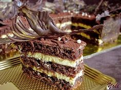 Вкусно с Йоли: Торта с кафе и шоколад
