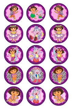 free bottle cap images | Free Stuff: 15 Dora the Explorer Bottle Cap Images - Listia.com ...