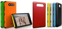 Las carcasas del Nokia Lumia 820 a escena http://www.xatakamovil.com/p/39944