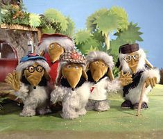 I had one of these creepy possum looking Womble critters