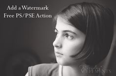 Free Watermarking Action for PSE: Everyday Elements